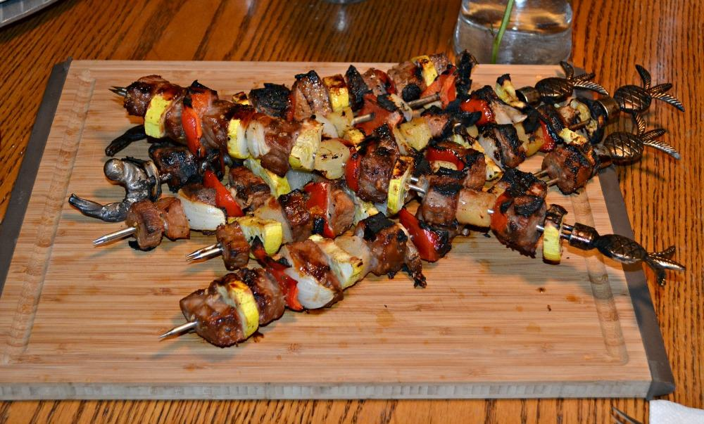 Beef Kabobs #AppleButterSpin