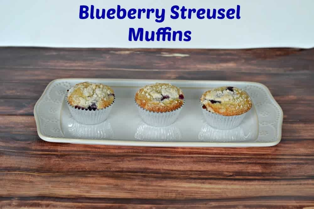 Blueberry Streusel Muffins | Hezzi-D's Books and Cooks