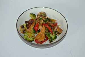 Tofu and Bok Choy Stir Fry:   CSA Tuesdays