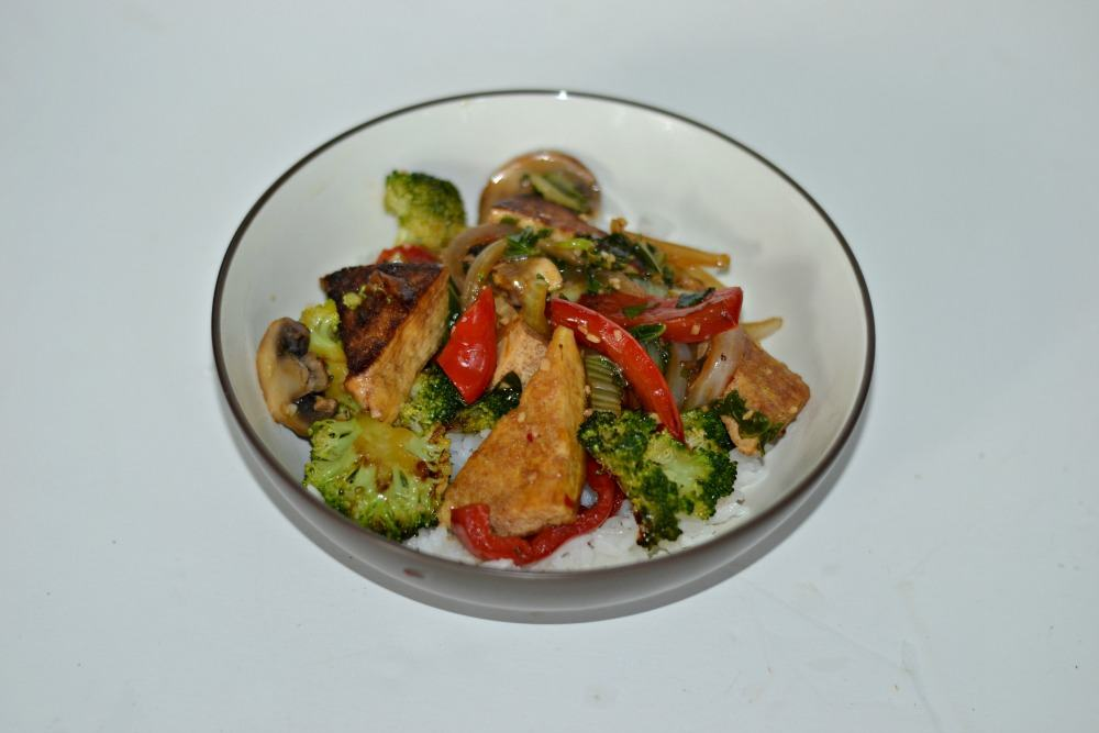 Bok Choy and Tofu Stir Fry | Hezzi-D's Books and Cooks