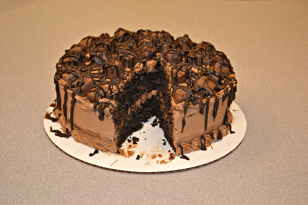 Triple Chocolate Candy Cake