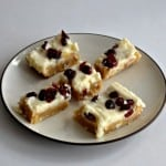 Cranberry Bliss Bars #ChristmasWeek