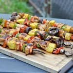 Honey Porter Glazed Chicken Skewers #PicnicGame