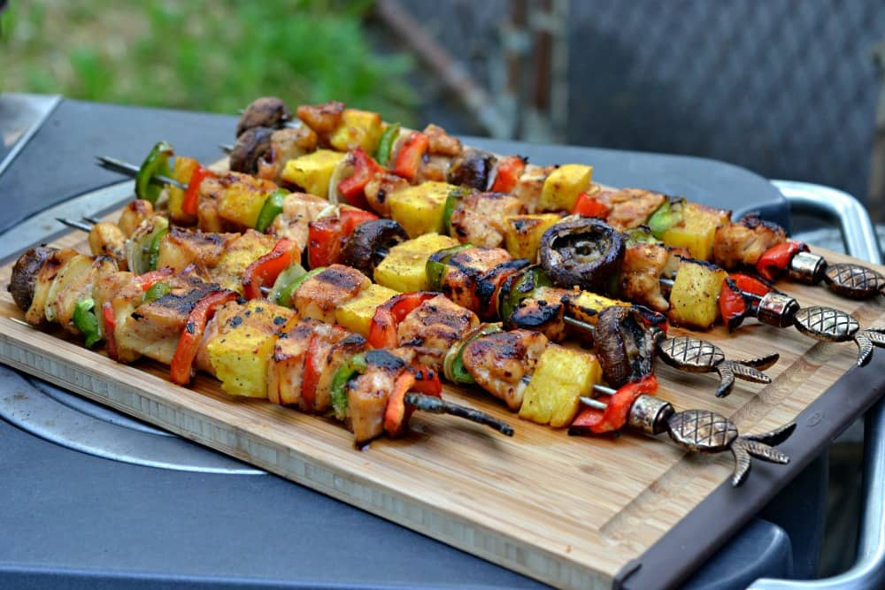 Honey Porter Chicken Kebabs #PicnicGame | Hezzi-D's Books and Cooks