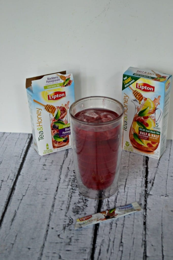 "Tea & Honey Lipton ""fresh Brewed"" Iced Tea in many delicious flavors"