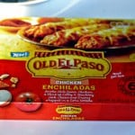 Old El Paso Chicken Enchiladas (Frozen Entrees) #MyBlogSpark