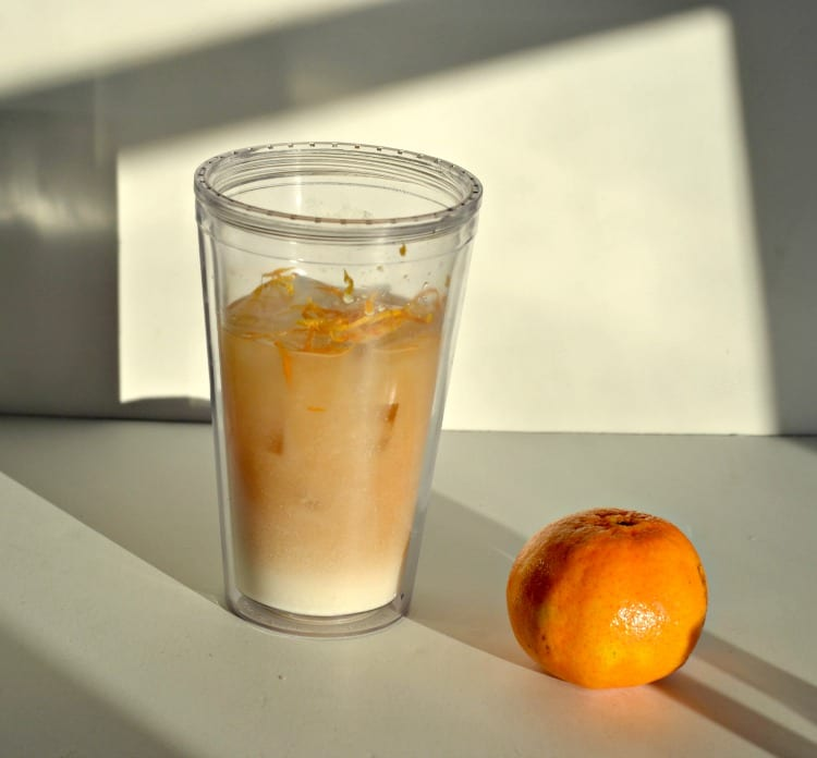 Red's Orange White Russian
