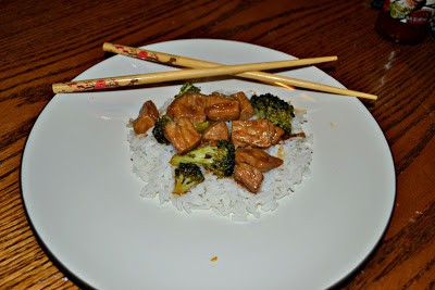 Homemade Pork Teriyaki with Broccoli