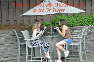 Refuel at the Pool with SNICKERS® and Dr Pepper