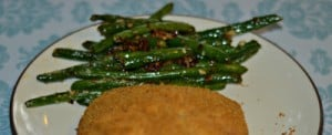 Spicy Parmesan Green Beans