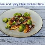 Sweet and Spicy Chili Chicken Strips