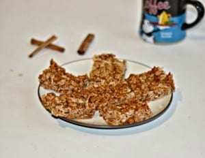 Cinnamon Espresso Rice Krispies Treats #12WksXmasTreats