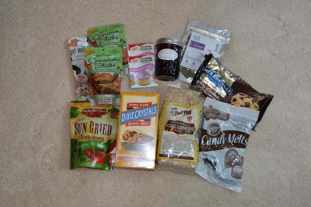 My favorite foods giveaway