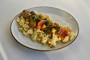 Beef Tagine over Couscous #SundaySupper