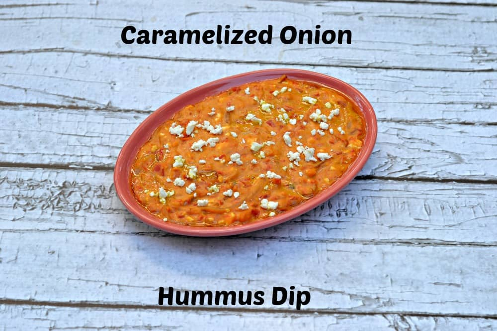 Caramelized Onion Hummus Dip