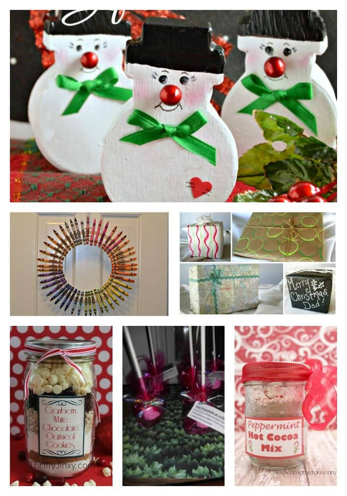 10 Fabulous DIY gifts for Christmas!