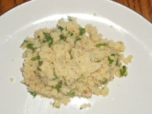 Couscous with Almonds
