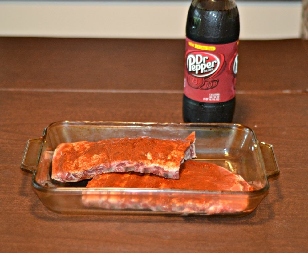 Dr Pepper BBQ ribs