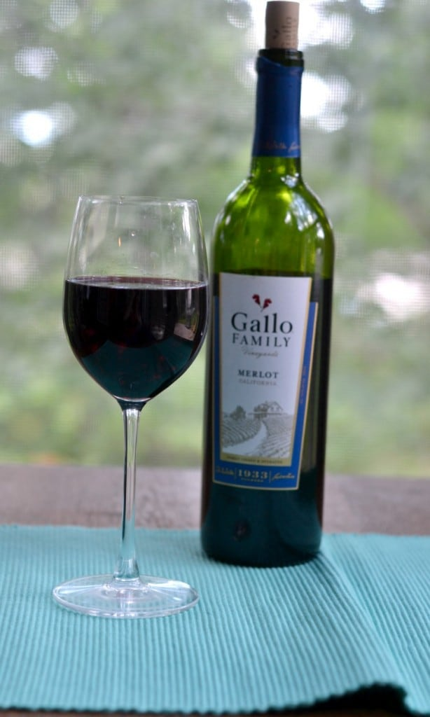 Delicious Gallo Family Vineyards Merlot Wine