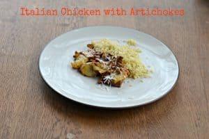 Italian Chicken and Artichokes