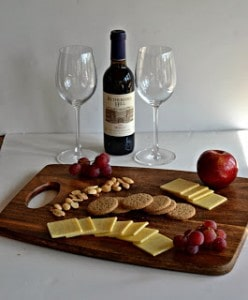 Wine and Cheese with Kerrygold Dubliner Cracker Cut Cheese