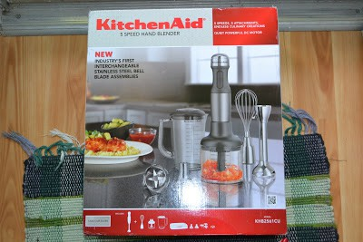 Kitchen-Aid 5 speed hand blender