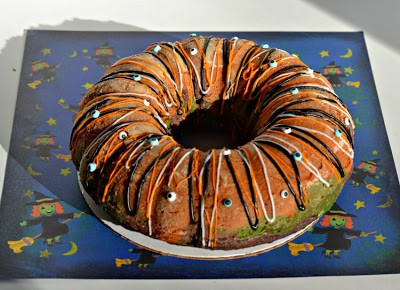 Monster Bundt Cake from hezzi-D's Books and Cooks