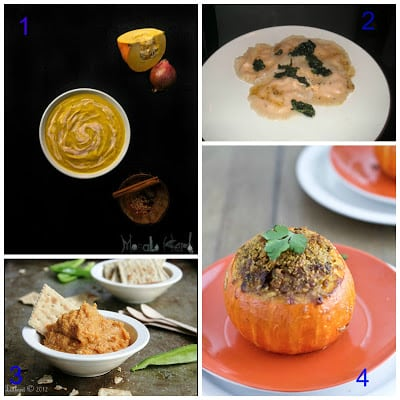 25 Sweet and Savory Pumpkin Recipes from Hezzi-D's Books and Cooks