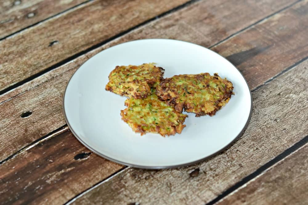 Zucchini Fritters | Hezzi-D's Books and Cooks