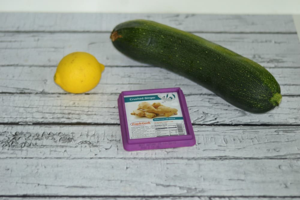 Zucchini + Lemon + Ginger = a delicious quick bread!
