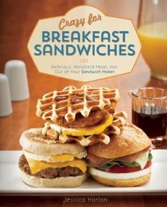 Apple Cheddar Breakfast Sandwich + review of Crazy for Breakfast Sandwiches