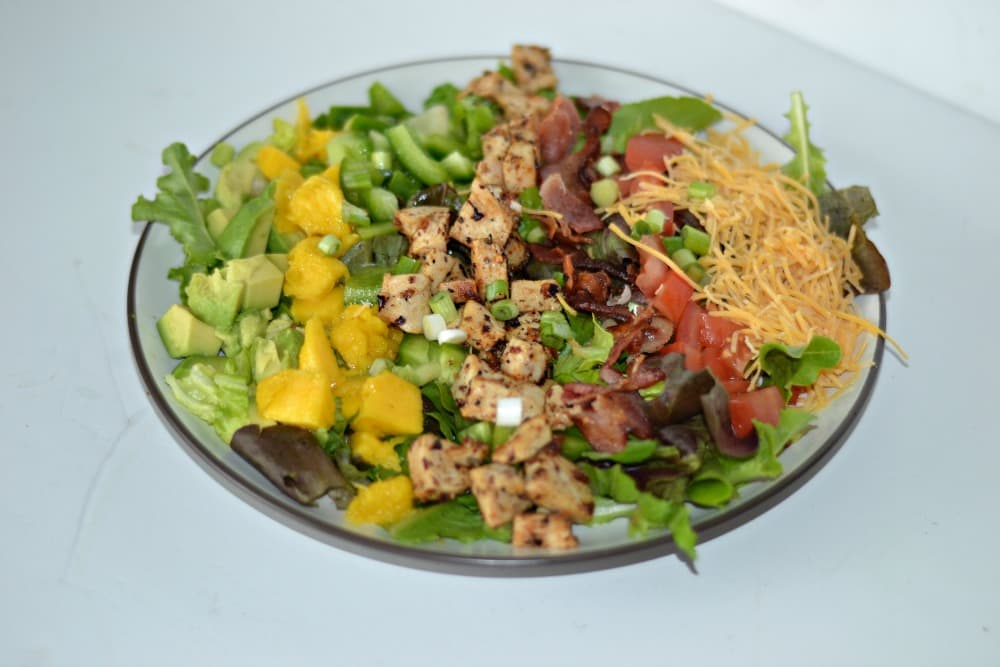 Carribean Cobb Salad