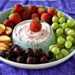 4 Ingredient Fruit Dip:  Simple Snack Recipes