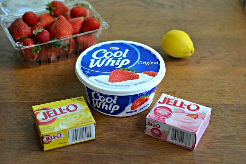 4 Ingredient Fruit Dip with Cool Whip and Jell-O Pudding Mix