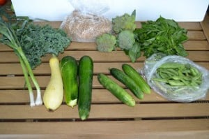 CSA Wednesdays: Kale, Zucchini, and Squash Quiche and Wheat Berry Granola
