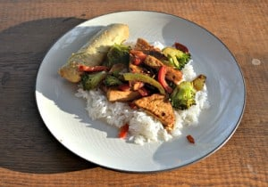 Spicy Garlic Tofu: Meatless Monday