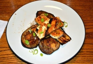 Grilled Eggplant and Tofu Steaks with Sticky Hoisin Glaze: Meatless Monday