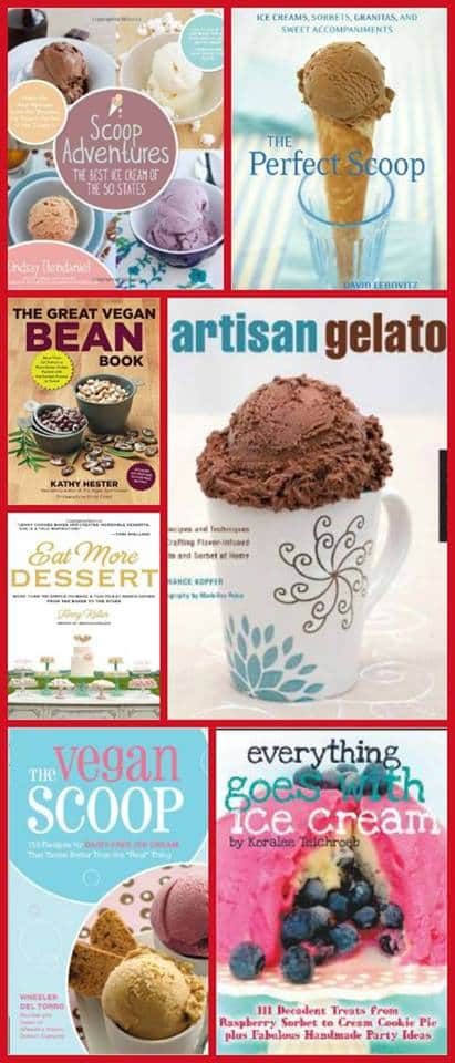 ice cream week cookbook