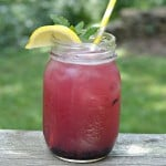 Lemon Blueberry Mint Iced Tea #AmericasTea
