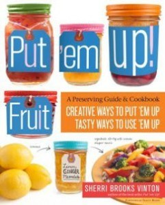 Mixed Berry Jam with Herbs and a review of Put 'em Up! Fruit by Sherri Brooks Vinton