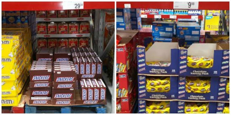 Get the big box of SNICKERS at Sam's Club