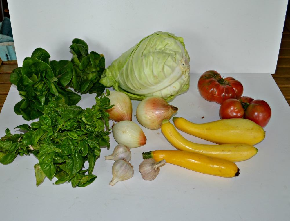 This weeks CSA share.