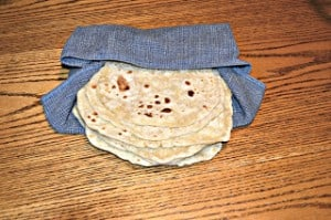 Flour Tortillas: Secret Recipe Club