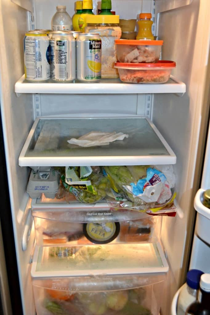 Clean the refrigerator once a month