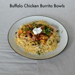 Buffalo Chicken Burrito Bowls:  CSA Tuesdays