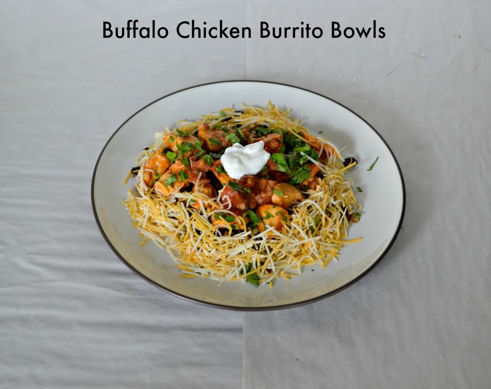 Buffalo Chicken Burrito Bowls | Hezzi-D's Books and Cooks