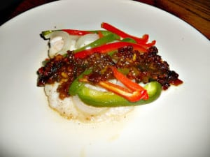 Fish with Black Bean Sauce #SundaySupper
