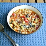 Pasta Fagioli: Meatless Monday