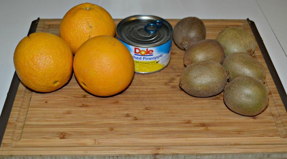 Pineapple Orange Kiwi Jam