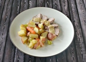 Roasted Pork Tenderloin with Potatoes and Vegetables